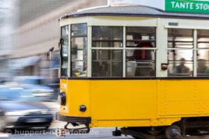 Italien, Mailand, Straßenbahn